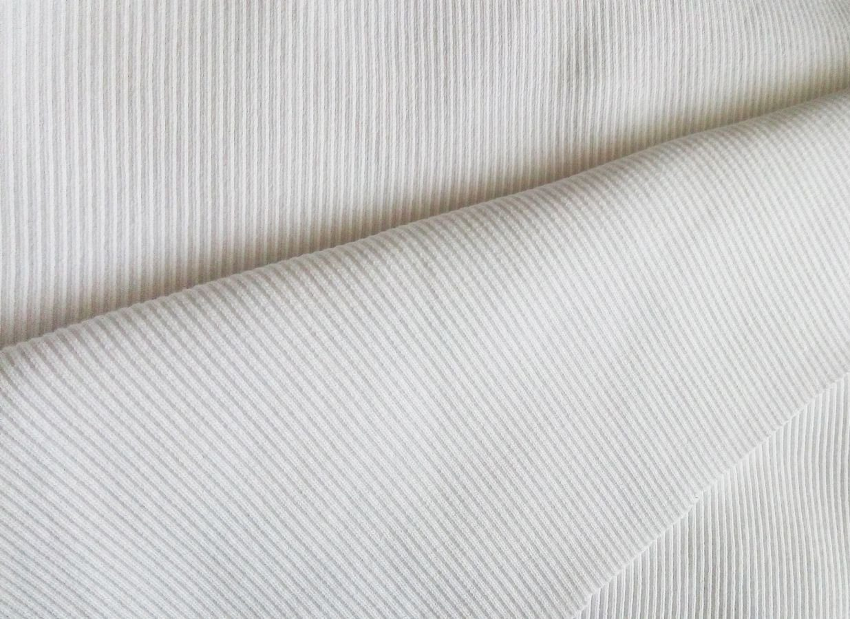 Huck knitted fabric